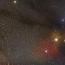 Rho Ophiuchi cloud complex -Part III,                                Matt Harbison