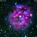 ic5146 nebulosa cocoon  nel cigno                                                                  distanza 3.300  A.L.,                                Carlo Colombo