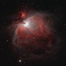 M42 The Orion Nebula,                                Nick LaPlaca