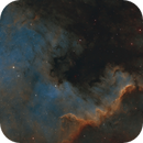 NGC 7000 - Another Brick In The Wall,                                Axel