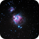 Orion and Running Man Nebula M42,                                CGPhotography
