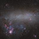 Large Magellanic Cloud & Tarantula Nebula,                                Peter Oberč