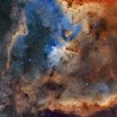 IC1805 - Heart Nebula - SHO,                                Patrice B