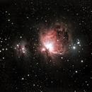 NGC1977 & M42, Running Man Nebula & Orion Nebula,                                Beatrice Heinze