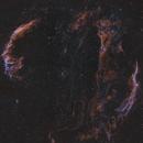 Veil Nebula Bicolor Mosaic,                                Mike Hislope