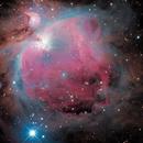 M42 Orion Nebula (ZWO ASI533MC Pro),                                Maple Gao