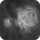 M42 in Ha,                                Leo Shatz