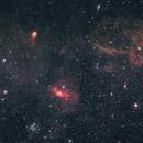 Bubble Nebula wide field,                                gmartin02