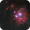 NGC 1760 area of the LMC in HaOiiiSiiRGB,                                Rick Stevenson