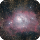 M8, Lagoon Nebula,                                José J. Chambó