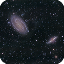 Bodes Galaxy embedded in the galactic Cirrus,                                Stephan Linhart