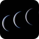 Venus - size and phase evolution from 26.04 to 27.05,                                Łukasz Sujka