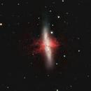 M82 in OSC w/ Hα (Cigar Galaxy),                                Jeffrey Horne