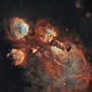 """NGC6334 """"Cat's Paw Nebula"""",                                Juan Filas"""