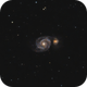 The Whirlpool Galaxy - M51,                                Justin Radomski