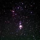 Orion's Belt with the Hasselblad,                                David Quattlebaum