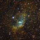 Bubble Nebula NGC7635 (SHO),                                Philippe Oros