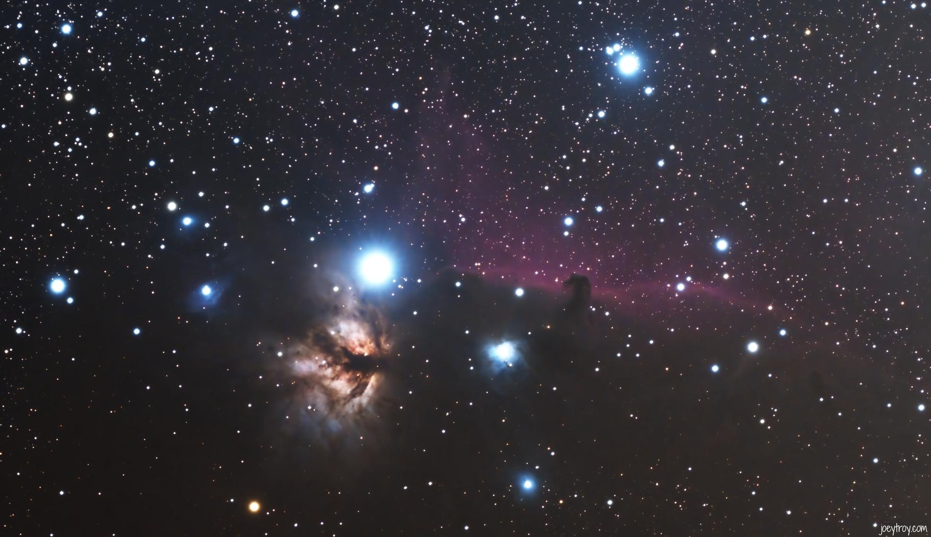 NGC 2023,                                Joey Troy