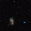 Messier 51,                                Régis Le Bihan