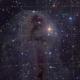 Dark nebula LDN1251 and distant background galaxies in Cepheus,                                Arnaud Peel
