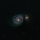 M51 Whirlpool Galaxy,                                Brett Creider