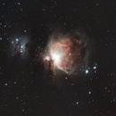Orion and Running Man Nebulae,                                Shawn Harvey