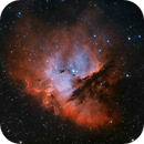Pacman Nebula, NGC 281,                                pemag