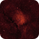 NGC 6823 (and SH2-86) - HaRGB Processing in PixInsight,                                Kurt Zeppetello