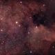 Region of the North America Nebula,                                Hockeyscope