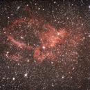 sh2-157 - claw nebulae o nebulosa uncino,                                ixio