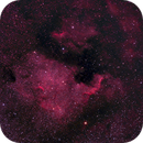 NGC 7000 - North America Nebula (Equipment Test),                                Kurt Zeppetello