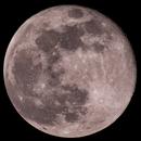 Lune rose,                                FHoTo