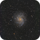 NGC6946 - The Fireworks Galaxy,                                bclary