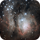Lagoon Nebula,                                Timothy Fukuyama