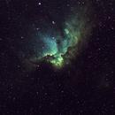 NGC7380 narrowband,                                Kuan Yu Ja