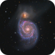 A star and two galaxies,                                meeus