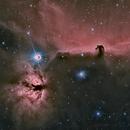 IC434-NGC2024-Barnard33   Alnitak, Flame and Horsehead,                                Valts Treibergs