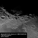 Mare Crisium and Mare Fecunditatis at f/20,                                Jairo Amaral
