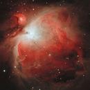 Orion Nebula (M42) HOO bicolour,                                Stuart Goodwin