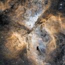 Eta Carina and the Keyhole Nebula,                                robonrome