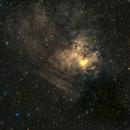 NGC 1491 Fossil Footprint Nebula       HaRGB,                                Albert  Christensen