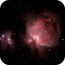 Orion Nebula M42 under a full moon,                                matthew.maclean