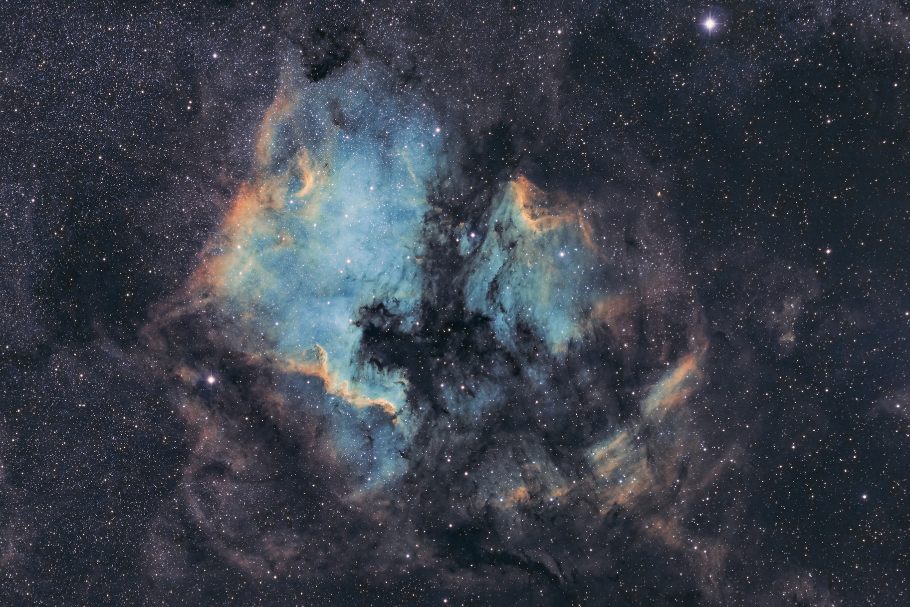 NGC7000 (widefield),                                Jeremy Jonkman