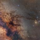 Milky Way Core to Rho Ophiuchi,                                Andrew Klinger