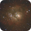 Lagoon Nebula M8,                                Russell Valentine