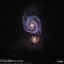 Wirlpool Galaxy (M 51),                                Godfried