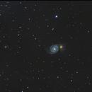 Galassia Vortice (M 51 ),                                Enrico Pangrazi