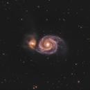 Messier 51,                                Hakan Midik