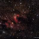 SH2-155, The Cave Nebula in HaRGB,                                Scott
