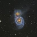 M51  Whirlpool Galaxy,                                Masahiro Takahashi
